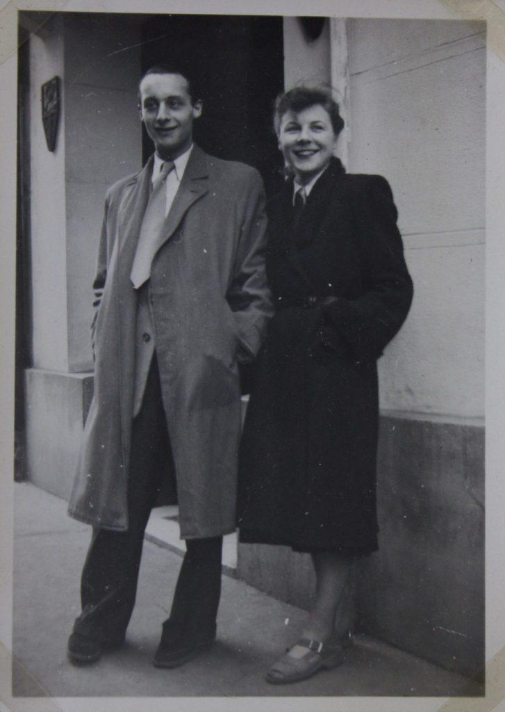 André Gorz et Doreen, sa compagne pour qui il a écrit Lettre à D.