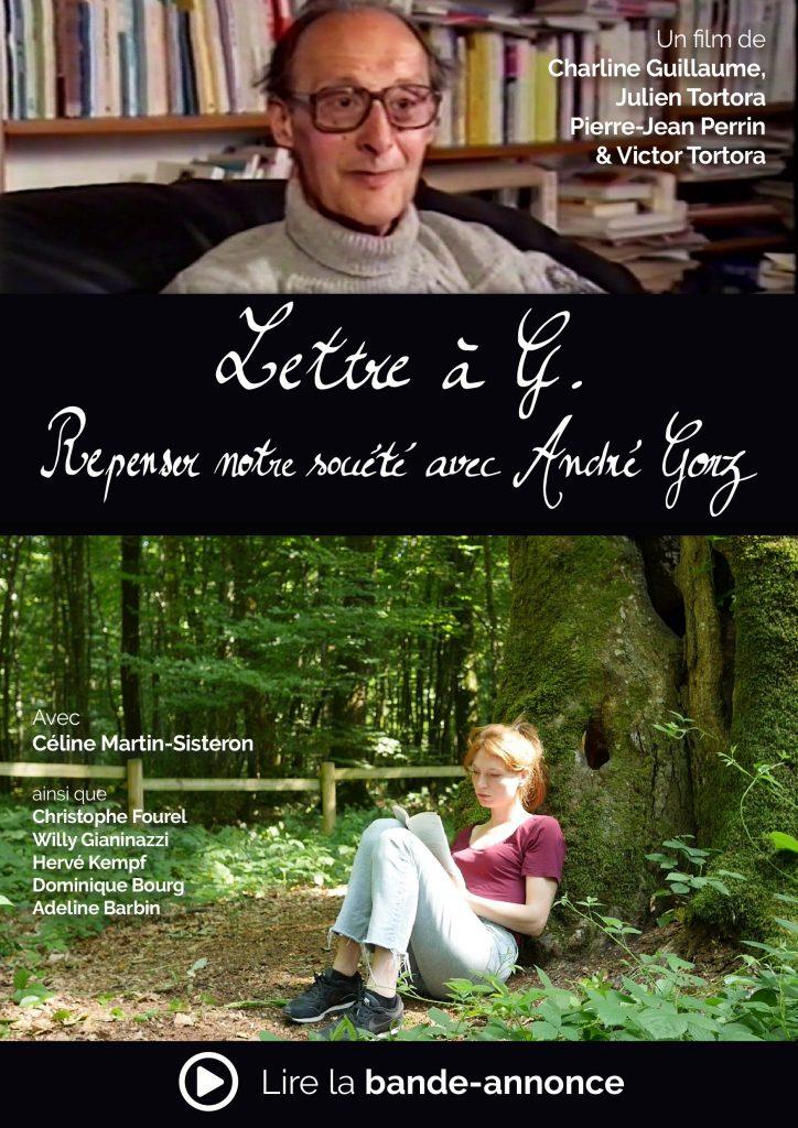 Affiche du film Lettre à G. - Repenser notre société avec André Gorz - Lien vers la Bande-annonce
