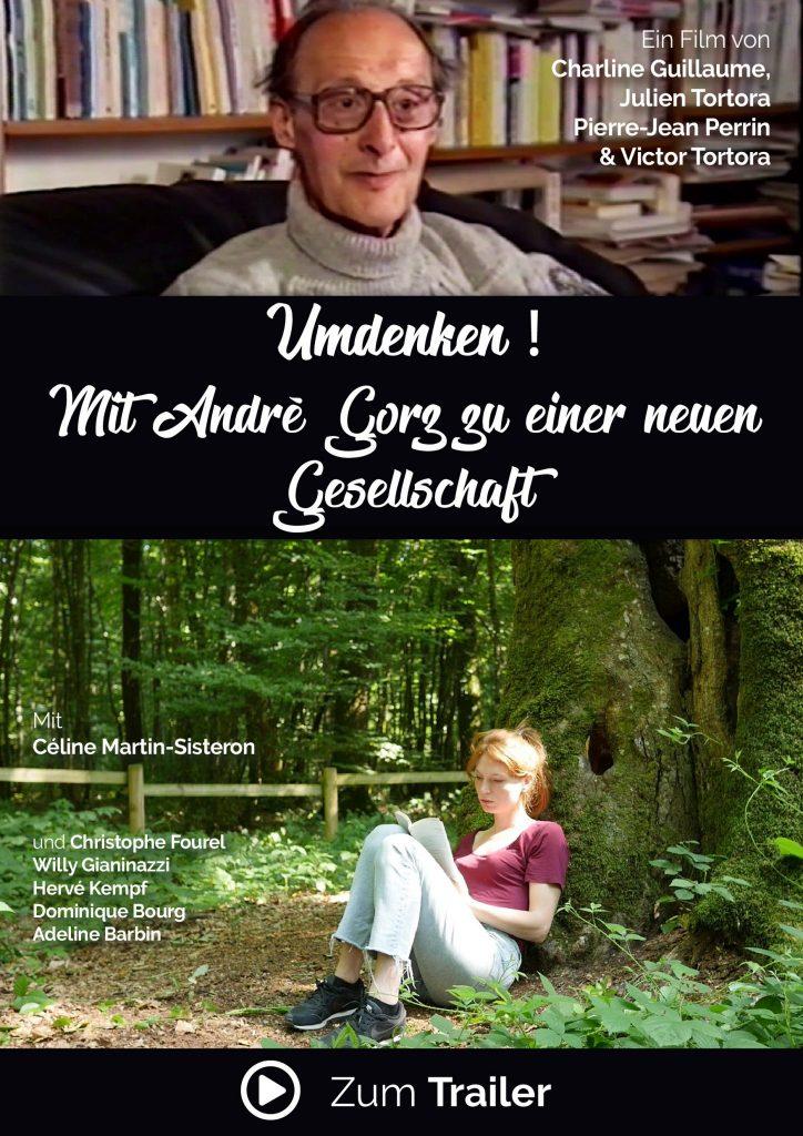 Poster zum Film « Umdenken ! Mit André Gorz zu einer neuen Gesellschaft »