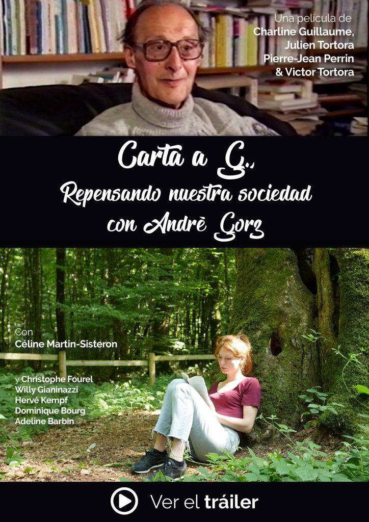 """Póster de la película """"Carta a G. Repensando nuestra sociedad con André Gorz"""""""