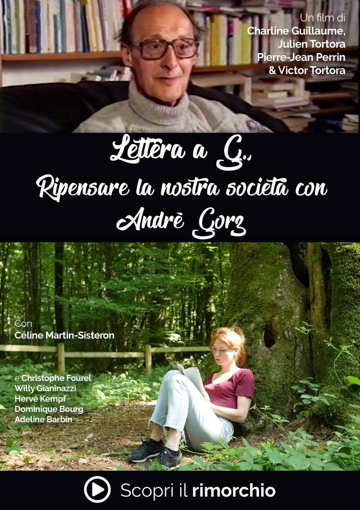 Poster del film : Lettera a G., il film - Ripensare la nostra società con André Gorz - rimorchio